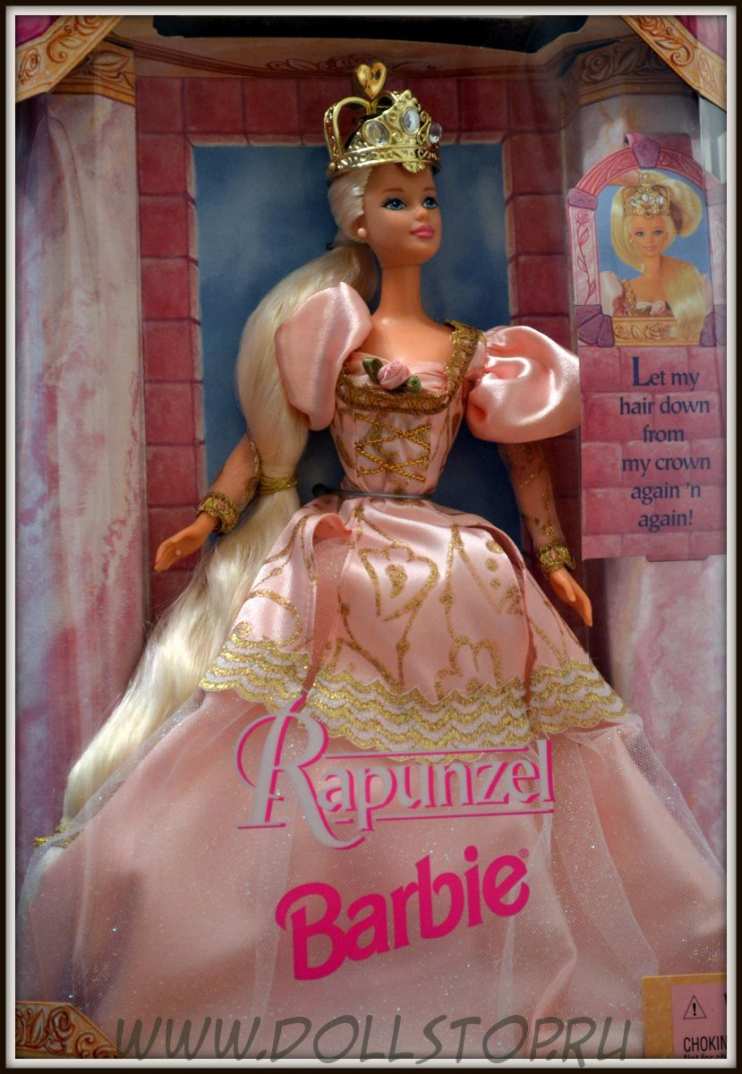 Barbie as Rapunzel, 1997, Mattel, Кукла Барби Рапунцель