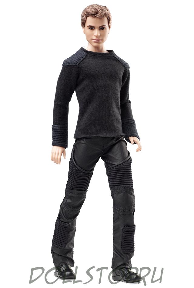 Коллекционная кукла Кен Четвертый - Тео из фильма Дивергент - Divergent Four Doll