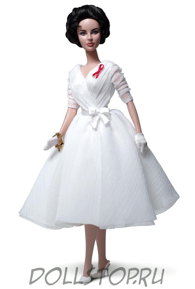 Коллекционная кукла Элизабет Тейлор Белые Бриллианты -  Elizabeth Taylor White Diamonds Doll