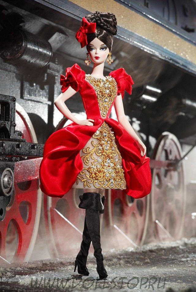Коллекционная кукла Барби Дарья - Darya Barbie Doll